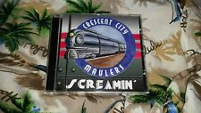 CRESCENT CITY MAULERS - Screamin' CD  Rockabilly Swing Neoswing Psychobilly