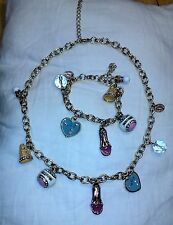 """JUICY COUTURE 2008 LIMITED Edition 8"""" Bracelet and 18"""" Necklace COUTURE Set"""