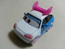 """Mattel Disney Pixar Cars 2 SUKI Japan Drift Car """"I Like You"""" Toy Car 1:55 Loose*"""