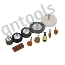 11PC Drill Attachment Polishing Buffing Sanding Wheel Cleaning Rust Remover Set