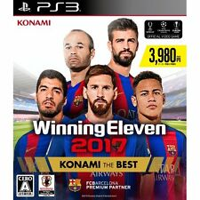 Winning Eleven 2017 (Konami the Best) SONY PS3 PLAYSTATION JAPANESE NEW