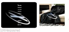 """X-Files Logo 50"""" x 60"""" Throw Blanket Official Licensed TV Series New Mint"""