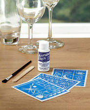 The Lakeside Collection Glass Etching Kits - Rub N Etch Kit #1