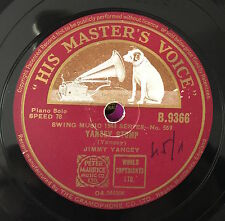 "RARE 78 RPM 10"" JIMMY YANCEY YANCEY STOMP FIVE O'CLOCK BLUES HIS MASTER'S VOICE"