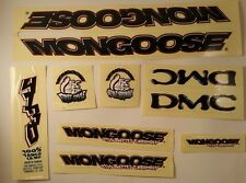 Mongoose DMC BMX Sticker Set NOS - Original Vintage