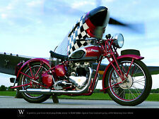 Limited Triumph Poster 1939 Speed Twin