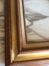 Vintage Old picture frame fits a 10 inch X 8 inch painting Wood Guilded