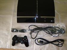 Sony Playstation 3 60 GB Consola Negra CEChC 03 firmware 3.55 (FW 3.55) PS3 Sacd