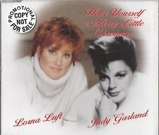 Have Yourself A Merry Little Christmas Judy Garland Lorna Luft UK CD promo