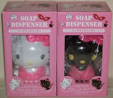Hello Kitty Angels & Petit Devil Soap dispenser Figure Dolls Sanrio 2012 NIB