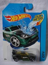 Hot Wheels HW City Series Color Shifters Power Rage Die Cast Car NEW Mattel 2013