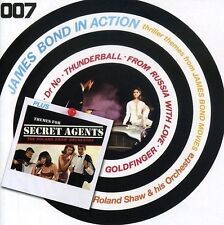 ROLAND/HIS ORCHESTRA SHAW - JAMES BOND IN ACTION-THEMES FOR SECRET 2 CD NEU