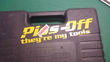P*SS OFF They're my Tools! Sticker decal, toolbox tool box chest, funny, Rude,