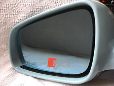 3 x AUDI S3 wing mirror frosted car stickers/decals