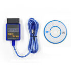 ELM327 V2.1 USB Interface OBDII OBD2 Diagnostic Auto Car Scanner Scan Tool Cable