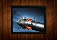 Fireball Xl5 Gerry Anderson Firmado Pp Enmarcado A4 Ideas de regalo Retro Tv Cartoon