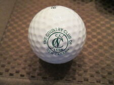 LOGO GOLF BALL-THE COUNTRY CLUB OF NEW CANAAN.....CONNECTICUT