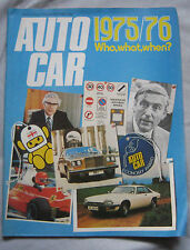 Autocar magazine 27/12/1975 featuring Toyota Crown Super road test
