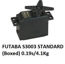 AUTENTICO FUTABA S3003 Servo Standard (In scatola) 0.19 s/4.1Kg