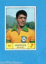 CAMPIONI d. SPORT 1968/69-PANINI-Figurina n.91- AMARILDO-BRASILE-CALCIO-Rec