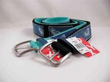 2 x ROXY  100% COTTON BELTS  SIZE M  4CM WIDE  NEW  2 BELTS