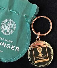 TAITTINGER Champagne BRAZIL  FIFA WORLD CUP 2014 KEY RING BN SPECIAL EDITION