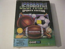 "Jeopardy Sports Edition new PC game 3.5"" disks Gametek 1993"
