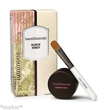 bare Minerals Escentuals BLEMISH REMEDY (THERAPY) & Heal & Conceal Brush Set NIB