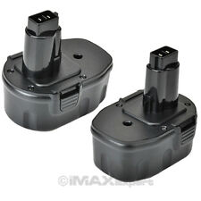 2 x 14.4V 1.5AH NI-CD DC9091 DW9091 DW9094 Battery for DEWALT DW984 DW954 DW935