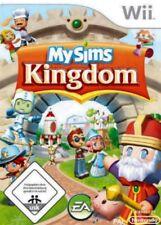 Nintendo Wii +Wii U MY SIMS MySims KINGDOM DEUTSCH TopZustand