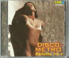 Disco Metro Bailable Volume 8 Latin Music CD New