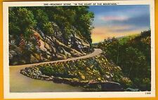 Roadway Scene in the Heart of the Mountains Western North Carolina