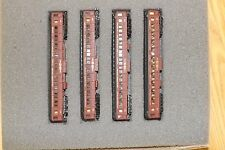 N-Scale custom TORONTO HAMILTON & BUFFALO (TH&B) add-on coach set