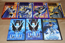Batman the Animated Series Volume 1 Volume 2 Volume 3 Volume 4 Phantasm lot