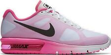 Vente! neuf pour femme nike air max SEQUENT baskets blanc rose uk 6 euro 40 £ 100