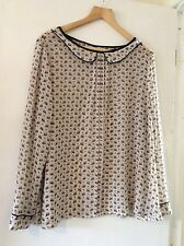 Size 20 Ladies Next shirt fantastic condition cute owl pattern