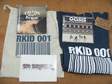 OASIS - BIG BROTHER LABEL CELEBRATE 10 YEARS PACKAGE INC. MEGA RARE T SHIRT (L)