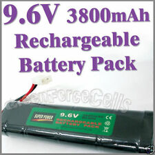 1 pcs 9.6V 3800mAh Ni-MH Rechargeable Battery Pack RC