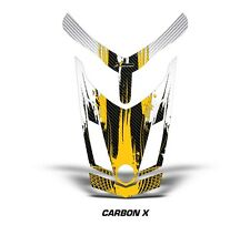 Ski Doo Rev XR GSX Summit Sled Sticker Decal Hood Graphic Kit 2013 CARBONX - YLW
