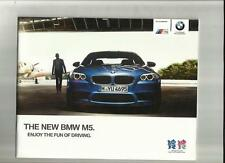 BMW M5. SALES BROCHURE  2011 2012