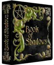 "Tree of Life Black & Gold Book of Shadows 3 Ring Binder 10"" x 11.75"" x 2.8""spine"