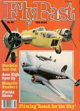 FLYPAST NO.60 JUL 86 FILMING  REACH FOR THE SKY  MOVIE DOUGLAS BADER / RAAF PBY
