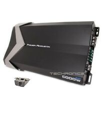 POWER ACOUSTIK GT1-6000D 6000 WATT CLASS D MONO CAR AMPLIFIER MONOBLOCK SUB AMP