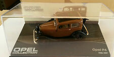 """DIE CAST """" OPEL P4 1935 - 1937 """" OPEL COLLECTION SCALA 1/43"""