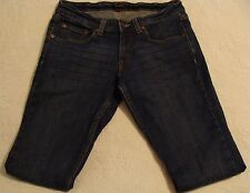 WOMAN'S LEVI'S 524 TOO SUPERLOW SKINNY JEANS 7 LONG EXCELLENT CONDITION