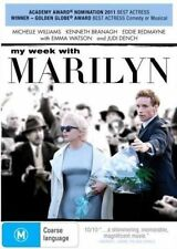 My Week With MARILYN [MONROE] DVD Movie Michelle Williams BRAND NEW RELEASE R4