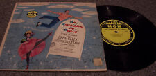 """An American In Paris"" MGM RECORDS #E-93 GENE KELLY, OSCAR LEVANT LP"