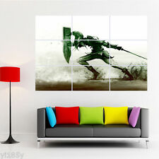 the Legend of Zelda Shield Sword Sand Poster Giant Wall Room Decor Art A