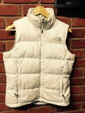Women's The North Face Gilet Body Warmer S Small 700 Series Puffer Jacket White