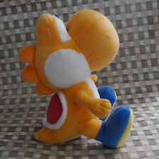 "Super Mario Bros. series plush YOSHI Orange 7"" stuffed toy doll"